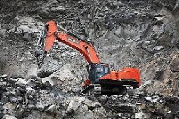 .韩国挖掘机在华站稳脚跟 所占市场份额稳步上升.