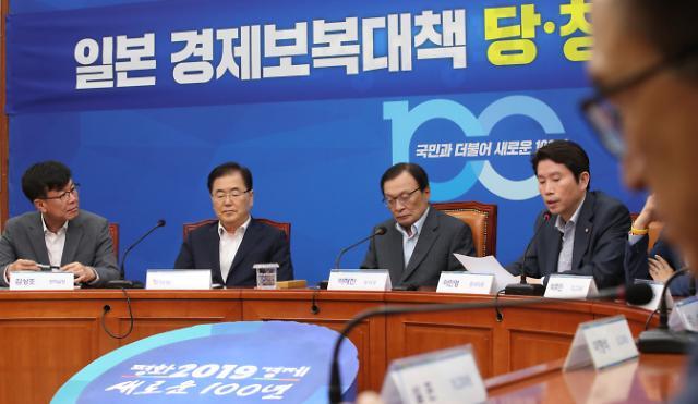 靑·與, 대일 강경 공세…친일 vs 반일 총선 프레임?