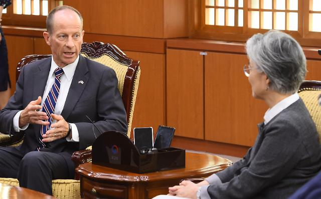 Senior diplomat says U.S. will do what it can to help resolve Seoul-Tokyo row: Yonhap