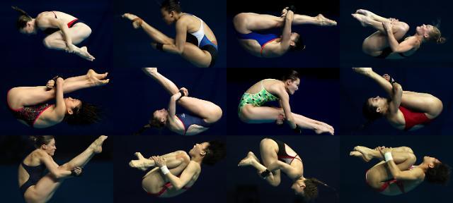 [포토] 중력의 마술 다이빙