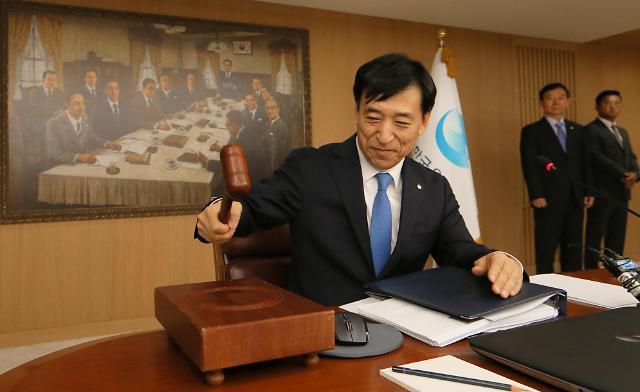 韩国央行将基准利率下调至1.5%