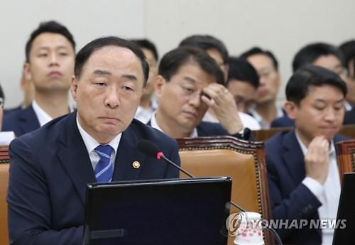 """홍남기 """"日 화이트리스트 제외 대응, 분석 작업 다음주 1차 정리"""""""