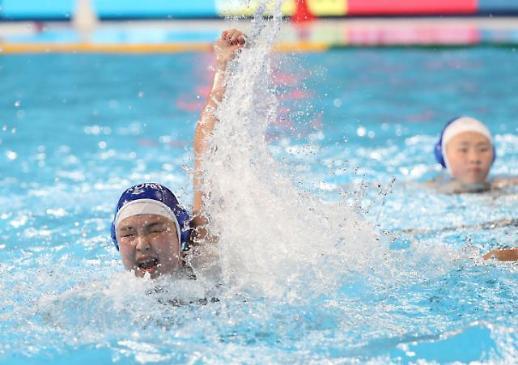 [포토] 2019 광주세계수영선수권대회 수구 '경다슬' 2경기 연속 득점