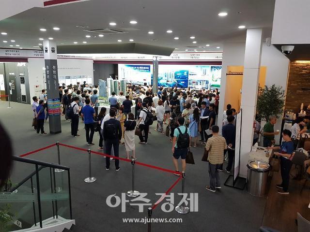 """초고층 청량리역 롯데캐슬 SKY-L65 후끈 """"가격 무조건 뛴다니 청약 넣어야죠"""""""