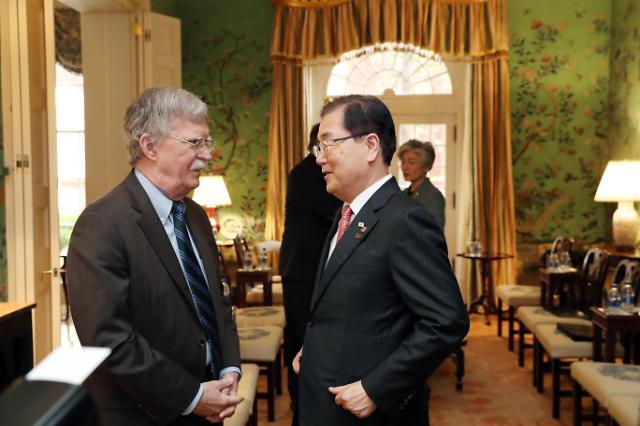 青瓦台:美国安顾问博尔顿23日访韩