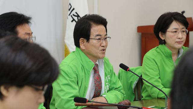 [포토] 박지원 공개비판하는 정동영 대표