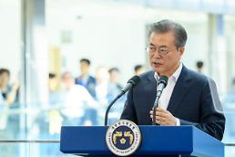 President Moon urges can do spirit to overcome Japans technology hegemony