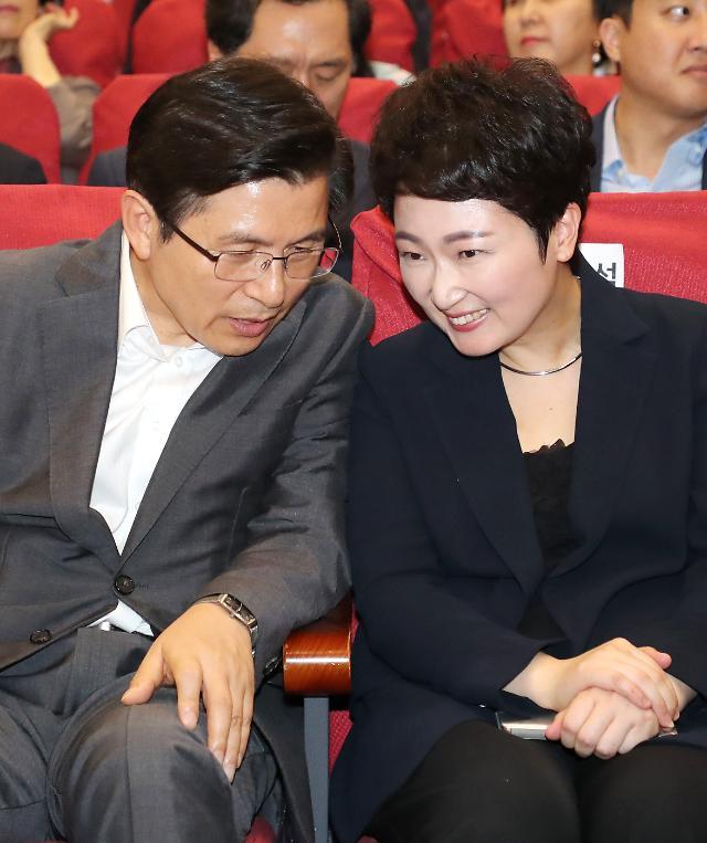 이언주 출판기념회 성황…한국당 영입 움직임 모락모락