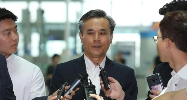 韓·日 WTO서 격돌…수산물 분쟁 승리한 김승호 신통상전략실장 참석