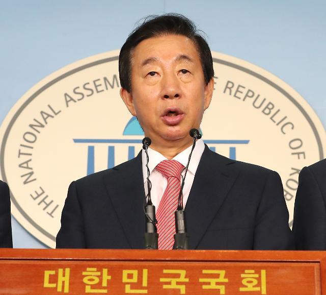 """김성태 """"검찰 기소는 드루킹 특검에 대한 정치 보복"""""""