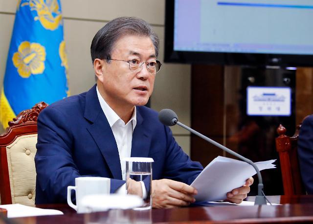 文在寅称韩国有能力继续克服对日劣势