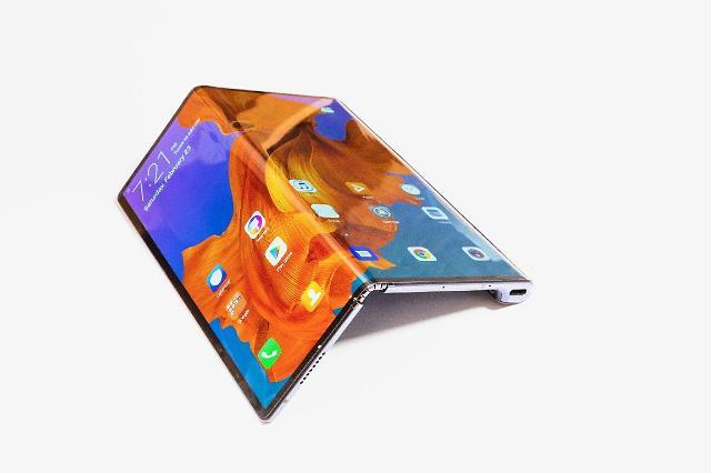 화웨이 5G 폴더블폰 '메이트X' 최종 버전보니... 배터리용량, 무게↓