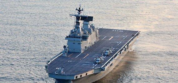 韩轻型航母建造计划曝光:可搭载16架F35B
