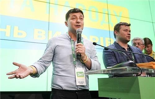 우크라이나 총선, 여당 90% 개표 상황에 선두 유지