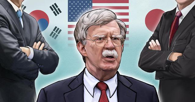 博尔顿今日将接连会见郑义溶等韩国主要人士