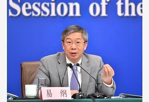 중국 인민은행 총재 中 기준금리 적절한 수준