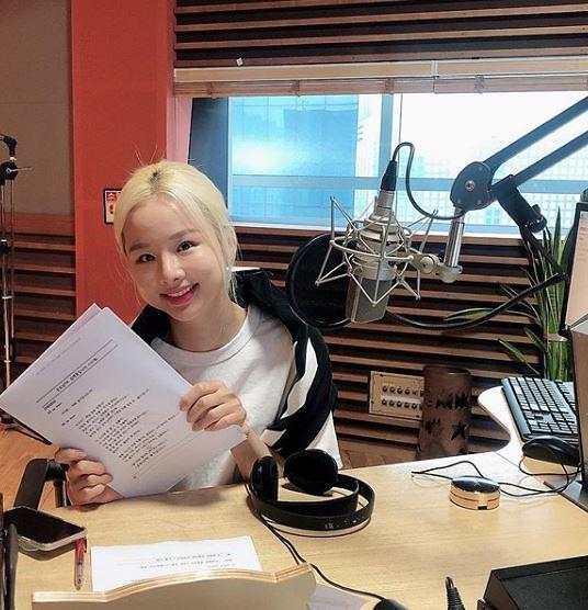 """[슬라이드 #SNS★] 솔지 굿모닝fm 김제동입니다 DJ 인증…""""솔디입니다"""""""