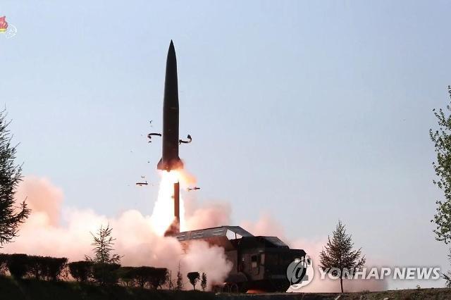 북한, 강원도 일대 신형미사일 추정 발사체 2발 발사…한미훈련 비난 의도?