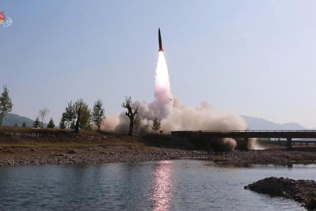 韩青瓦台称朝鲜发射新型近程弹道导弹