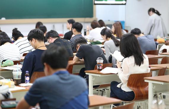 统计:韩7级公务员考生女性占比近半