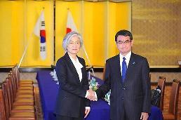 .韩日外长通话讨论限贸措施和朝鲜射弹.