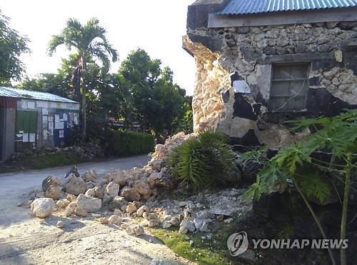 필리핀 연쇄 지진에 최소 8명 사망