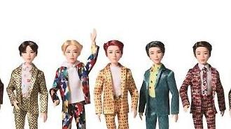 손오공, 방탄소년단 'BTS 패션돌' 출시…28일 국내 정식 판매 시작