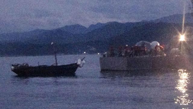 韩国防部:越界南下3名朝鲜船员无间谍之嫌