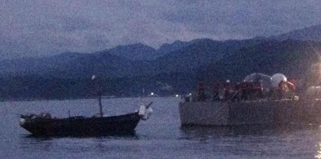 韩政府今将送还3名越界朝鲜船员