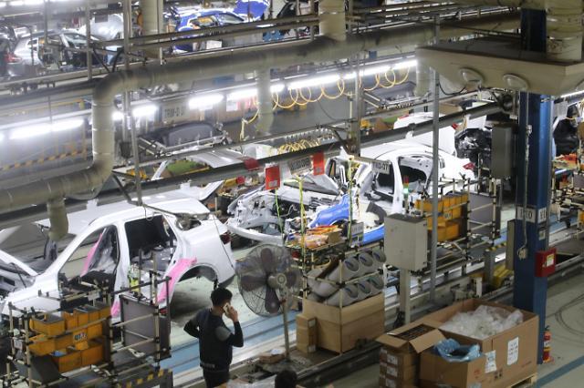 韩国企业体感景气时隔1个月再次下降