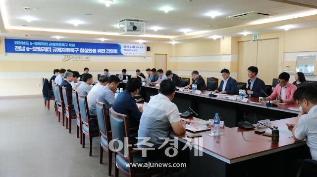 전남TP e-모빌리티 활성화 기업간담회