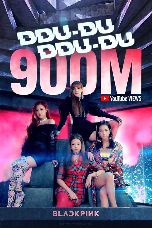 BLACKPINK《DDU-DU DDU-DU》MV播放破9亿