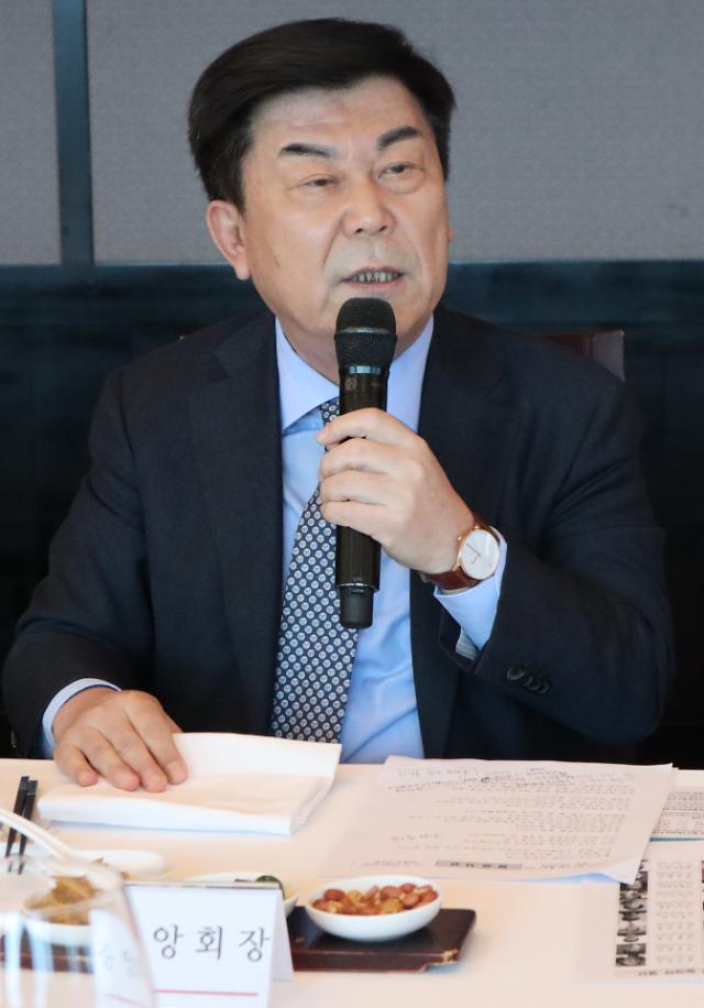 '선거 앞두고 법인카드 식사·향응 사용' 박성택 전 중기중앙회장, 벌금 1000만원 확정