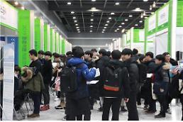 .韩公共机构今年上半年录用人数超1.5万.