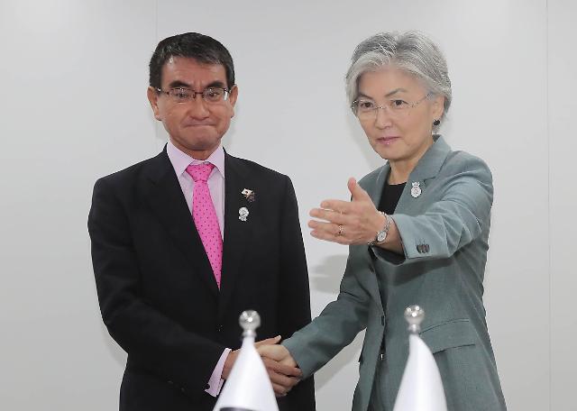 韩日外长举行会谈 贸易谈判未取得任何进展