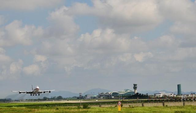 韩国务安机场将新开2条中国航线