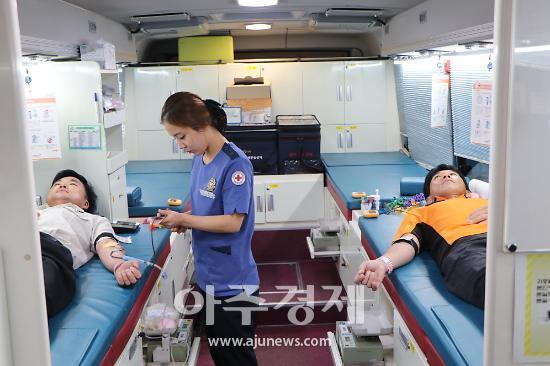의왕소방, 사랑의 헌혈로 생명 나눔 실천
