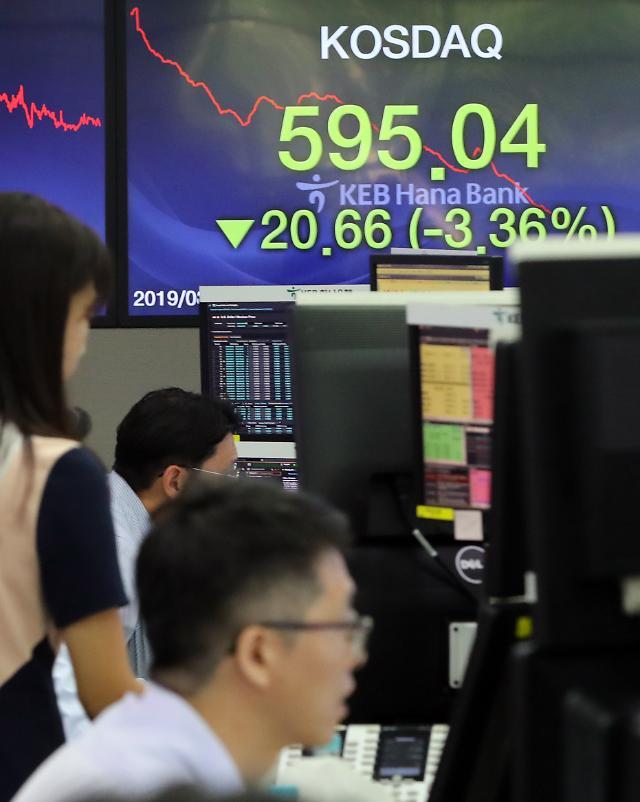韩元走低股市暴跌 日本贸易制裁副作用初显