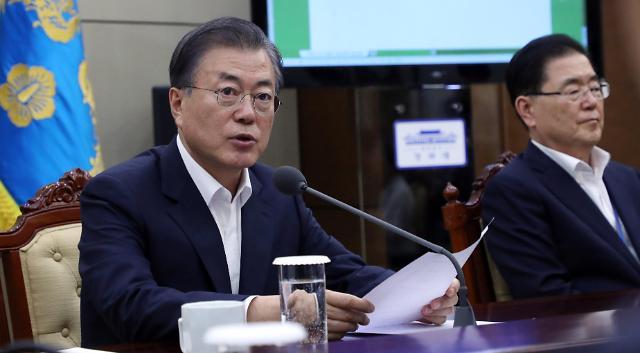 文在寅:韩朝经济合作将助韩国赶超日本
