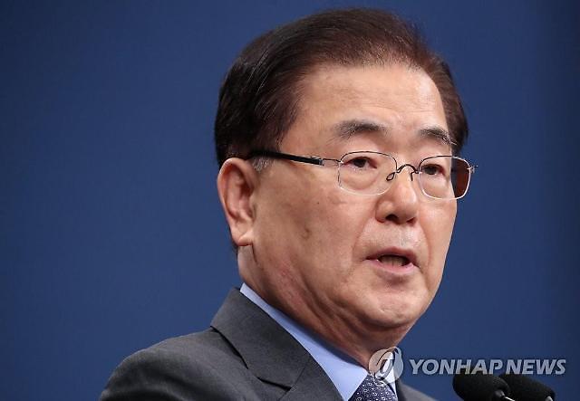 """青瓦台举行国家安保委员会常任委员会:""""朝鲜导弹对韩半岛和平造成负面影响"""""""