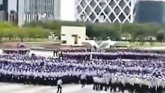 """""""홍콩 시위대 겨냥했나"""" 중국, 선전 앞바다서 반테러 훈련"""