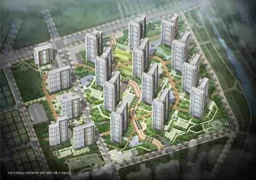 GS건설 컨소시엄, 8월 의정부역 센트럴자이·위브캐슬 분양