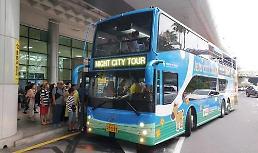 .济州岛推出夜间观光巴士 深受游客好评.