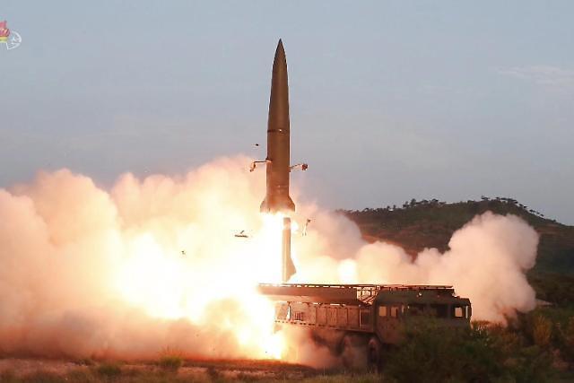 朝鲜又发射两枚导弹…表达对韩美军演的不满?