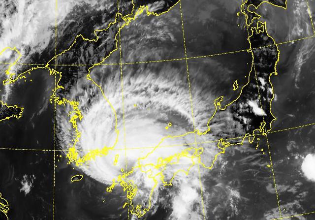[포토] 천리안 위성이 촬영한 태풍 경로