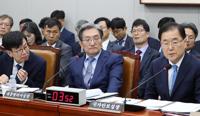 韩国国安首长:朝鲜射弹不违反韩朝军事协议