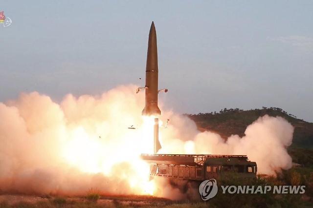 """북한 """"전날 신형전술유도탄 발사… 한미연습 경고 성격"""""""