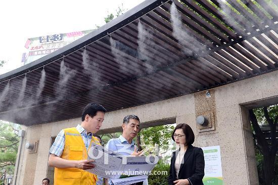 """은수미 성남시장 """"시민 건강과 안전 위한 노력 최선 다하겠다"""""""