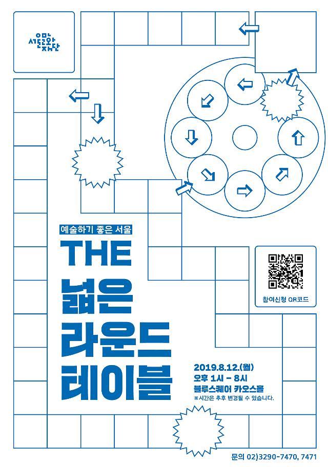 서울문화재단, 예술계 종사자들과 지원사업 개선안 논의