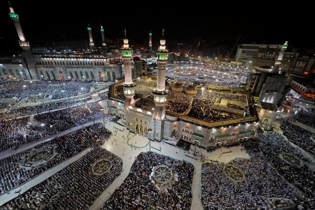 [포토] 사우디 메카에 모인 무슬림